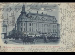 Rumänien: 1899: Ansichtskarte Bucaresti nach München