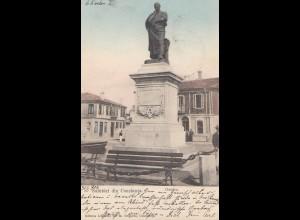 Rumänien: 1904: Ansichtskarte Ovidiu nach Wien