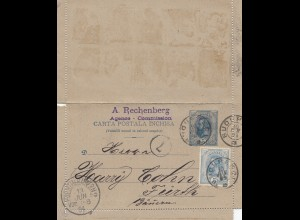 Rumänien: 1894: Buouf nach Fürth