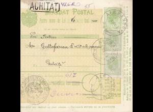Rumänien: 1907: Alexandria nach Galati