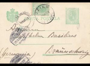 Rumänien: 1903: Ozien nach Braunschweig