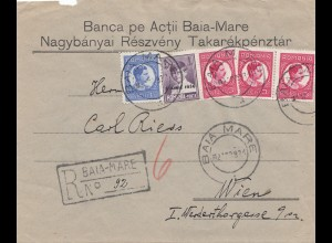 Rumänien: 1931: Baia Mare nach Wien