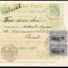 Rumänien: 1907: Mandat Postal Alexandria nach Ploesti