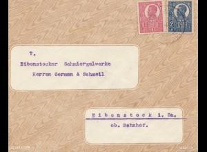 Rumänien: Brief aus Timisoara nach Eibenstock