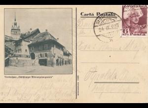 Rumänien: 1937: Ansicht Vereinshaus nach Apolda