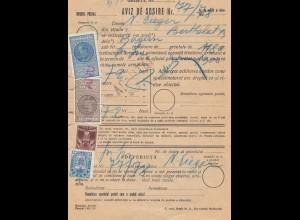 Rumänien: 1938: Aviz de Sosire