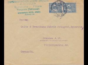 Rumänien: Norddeutscher Lloyd Timiscara nach Dresden