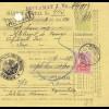 Rumänien: 1911: Mandat Postal Roman nach Jasi, Reclamat