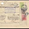 Rumänien: 1913: Mandat Postal Brosteni nach Bucuresti