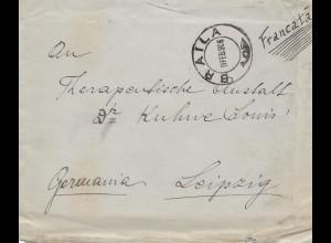 Rumänien: 1906: Braila nach Leipzig