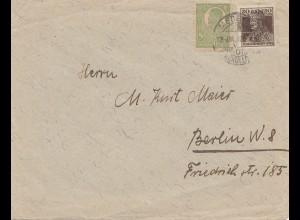 Rumänien: 1934: Bucaresti nach Wien als Einscheiben