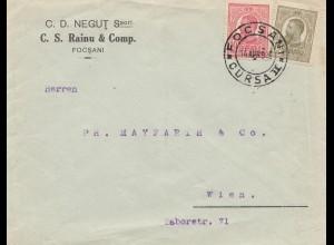 Rumänien: 1916: Focsan Cursa nach Wien