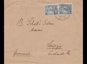 Rumänien: Brief nach Leizig, königlicher Musikdirektor