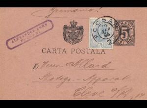 Rumänien: 1884: Ganzschae Focsani