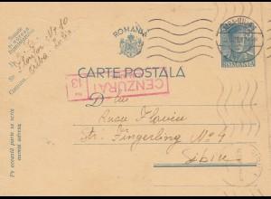 Rumänien: 1942: Alba-Iulia nach Sibin