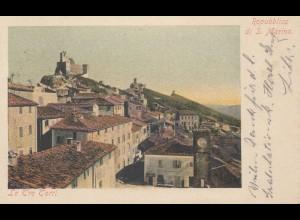 San Marino: Ansichtskarte in die Steiermark