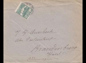 San Marino: Brief nach Brandenburg