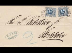 Schweden: 1874: Norrköping nach Stockholm