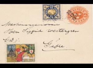 Schweden: 1912: Ganzsache