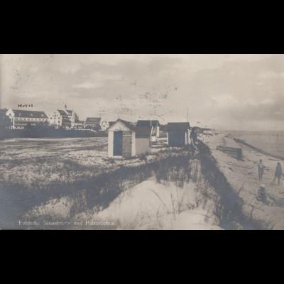 Schweden: 1921: Ansichtskarte Malmö nach Zürich
