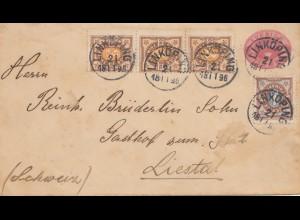 Schweden: 1896: Linköping in die Schweiz