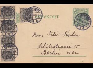 Schweden: 1914: Göteborg nach Berlin