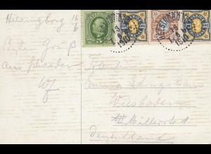 Schweden: 1910: Ansichtskarte Helsingborg nach Wiesbaden