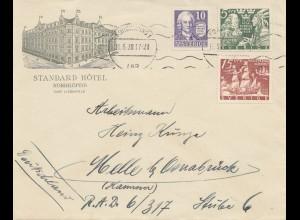 Schweden: 1938: Norrköping nach Osnabrück