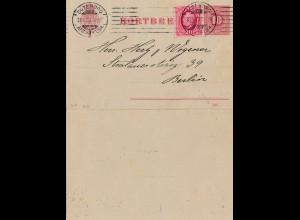 Schweden: 1909: Göteborg nach Berlin