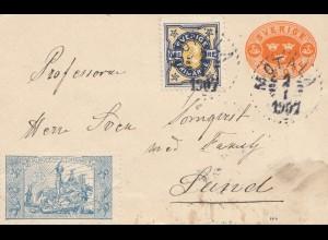 Schweden: 1897: Motala nach Lund