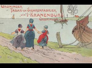 Schweden: 1907: Groninger Tabak-en Sigarenfabriek nach Helsingör