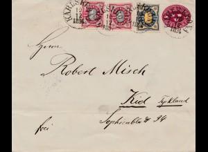 Schweden: 1894: Karlskrona nach Kiel