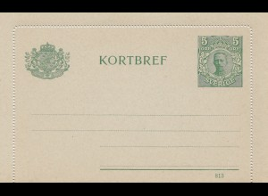 Schweden: Kortbref K9