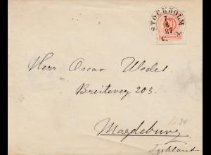 Schweden: 1887: Stockholm nach Magdeburg