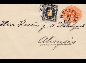 Schweden: 1901: Westeras nach Alingsäs