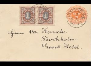 Schweden: 1894: Stockholm Brief