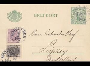 Schweden: 1912: Märieered nach Leipzig