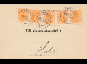Schweden: 1919: Flyttningsbetyget