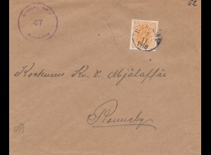 Schweden: 1918: Brief