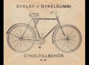 Schweden: 1922: Lofsdalen nach Göteborg - Fahrrad