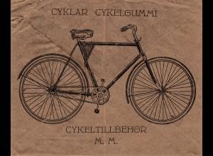 Schweden: 1923: Lofsdalen nach Göteborg - Fahrrad