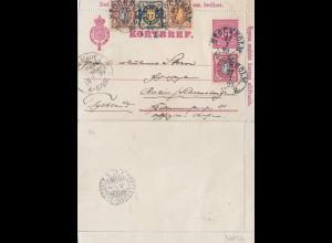 Schweden: 1899: Stockholm nach Berlin