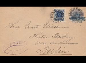 Schweden: 1891: Stockholm nach Berlin