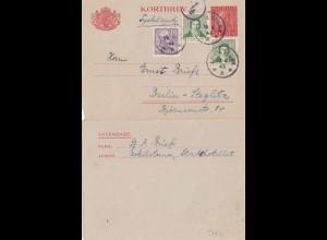 Schweden: 1943: Ganzsache nach Berlin