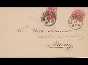 Schweden: 1885: Göteborg nach Mainz
