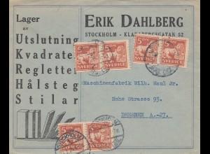 Schweden: 1924: Stockholm nach Dresden, MeF
