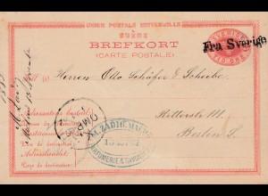 Schweden: 1882: Parfümerie nach Berlin