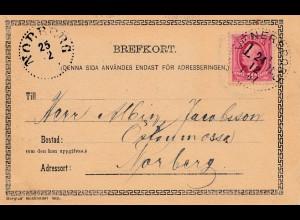 Schweden: 1901: Norberg - Ansichtskarte