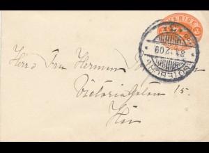 Schweden: 1909: Brief innerhalb Göteborg