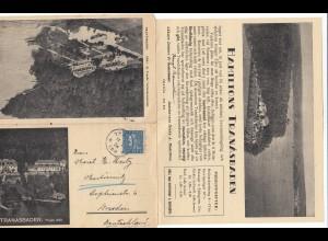Schweden: 1934: Tranasbaden nach Dresden